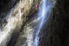 2_W studni P155, Jaskinia Lu Tian Keng, Prowincja Hubei, Chiny Michał Ciszewski
